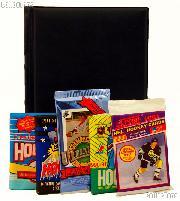Hockey Card Collecting Starter Set / Kit NHL with 3 Hockey Card Packs & Album