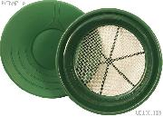 """14"""" Gold Pan & 1/8"""" Gold Sifter Set - Equipment for Prospecting"""