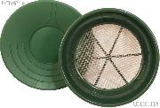 """14"""" Gold Pan & 1/12"""" Gold Sifter Set - Equipment for Prospecting"""