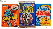 Baseball Cards MLB 3 Different Sealed Packs of Trading Cards