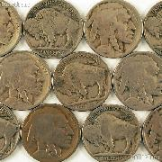 1925-D Buffalo Nickel BETTER DATE Filler