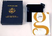 2006 American Eagle 1/10th oz Uncirculated Burnished $5 Gold Bullion Coin OGP Replacement Box and COA