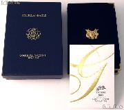 2005 American Eagle Gold Bullion 4-Coin Proof Set OGP Replacement Box and COA