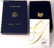 2008 American Eagle Gold Bullion 4-Coin Proof Set OGP Replacement Box and COA