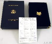 1997 American Eagle Gold Bullion 4-Coin Proof Set OGP Replacement Box and COA