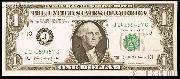 One Dollar Bill Federal Reserve Note Series 1963B BARR NOTE US Currency CU Crisp Uncirculated