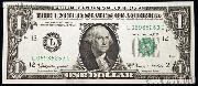One Dollar Bill Federal Reserve Note FRN Series 1963 US Currency CU Crisp Uncirculated