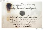 Sixpence Wedding Coin for Bride's Shoe..Lucky Bridal Six-Pence