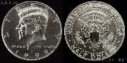 Kennedy CLAD Half Dollar (1971-Date) One Coin Brilliant Uncirculated Condition