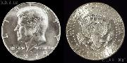 Kennedy 40% Silver Half Dollar (1965-1970) One Coin Brilliant Uncirculated Condition