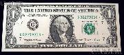 One Dollar Bill Green Seal FRN STAR NOTE Series 1995 US Currency CU Crisp Uncirculated
