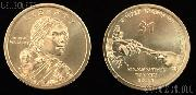 Native American Dollar (2011) One Coin Brilliant Uncirculated Condition