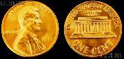 Lincoln Memorial Cent Copper (1959-1982) One Coin Brilliant Uncirculated Condition