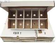 Trading Card SORTING Storage Box by BCW 10 Compartment Cardboard Storage Box