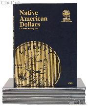 Whitman Native American Dollar Folder 2009-Date #3163