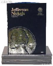 Whitman Jefferson Nickels Folder 1962-1995  #9039