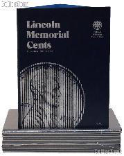 Whitman Lincoln Memorial Cents Folder 1959-1998 #9000