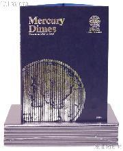 Whitman Mercury Dimes Folder 1916-1945 #9014