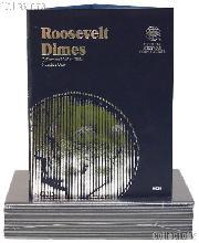 Whitman Roosevelt Dimes Folder 1946-1964  #9029