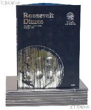 Whitman Roosevelt Dimes Folder  1965-2004 #9034