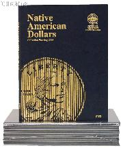 Native American Dollar Coin Folder by Whitman 2009-Date Sacagawea 3163
