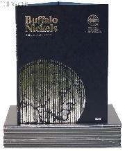 Whitman Buffalo Nickels 1913-1938 Folder 9008