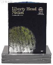 Whitman Liberty Head Barber Nickels Folder 9007
