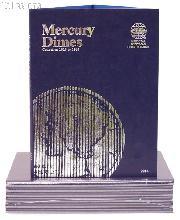 Whitman Mercury Dimes 1916-1945 Folder 9014