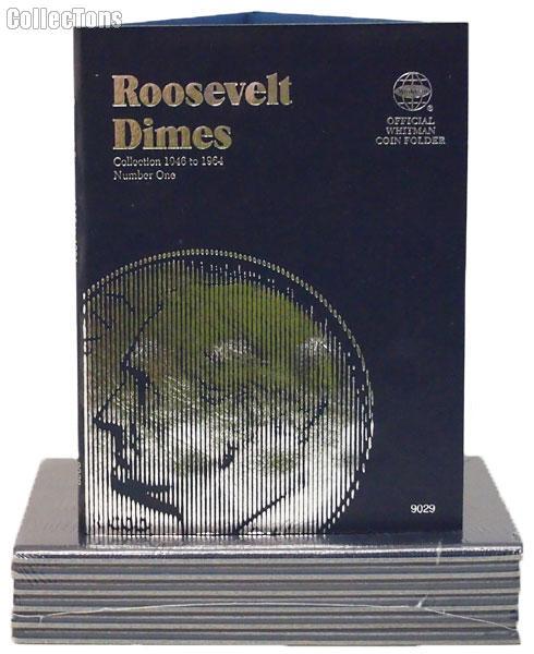 Whitman Roosevelt Dimes 1946-1964 Folder 9029