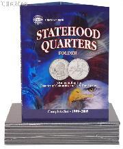 Whitman Statehood, D.C. & Territory Quarter Folder 8097