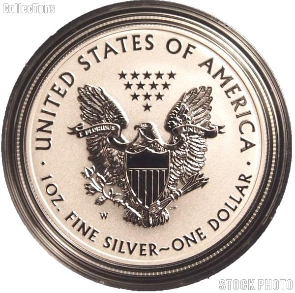 2013 W American Silver Eagle Reverse Proof Coin From Us