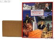 Presidential Dollar Coin Folder by Littleton Deluxe Color Folder for Presidential Dollar Collections LMF2