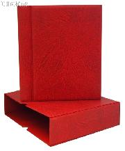 Lighthouse Vario-G Binder and Slipcase in Red 4-Ring