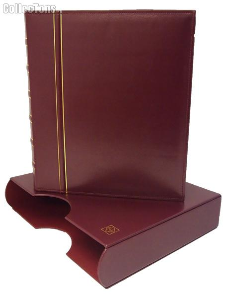 Lighthouse Classic GRANDE Binder & Slipcase in Red