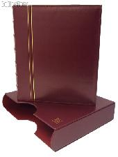 Lighthouse Classic GRANDE Coin Binder & Slipcase Red