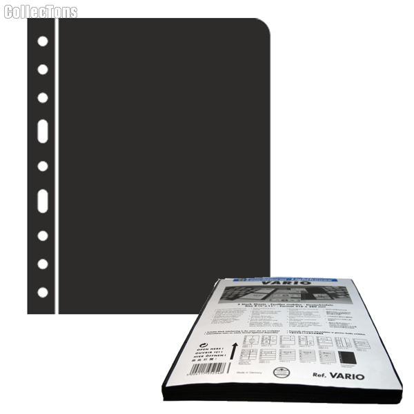 Lighthouse VARIO ZWL Black Interleaves Stamp -5 Pages