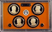 2013 U.S. Mint Presidential Dollar Proof Set - 4 Coins