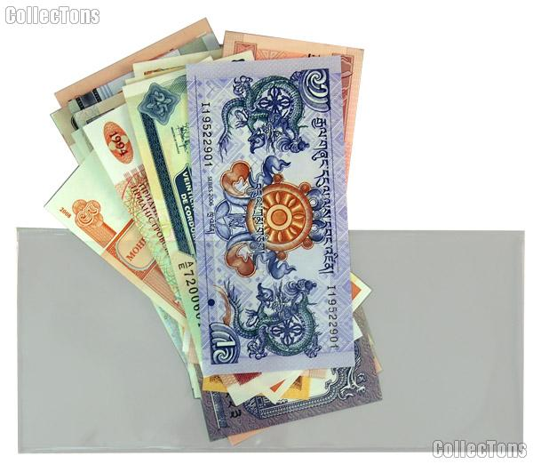 World Currency Starter Set with 25 Bills from 25 Different Countries