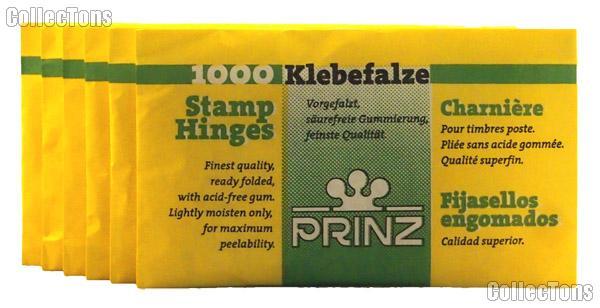 Prinz Folded Stamp Hinges Pack of 1,000