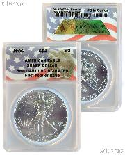 CollecTons Keepers #3: 1986 American Eagle Silver Dollar
