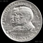 Battle of Antietam Anniversary Silver Commemorative Half Dollar (1937) in XF+ Condition