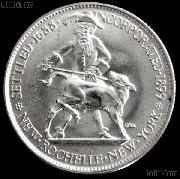 New Rochelle New York 250th Anniversary Silver Commemorative Half Dollar (1938) in XF+ Condition