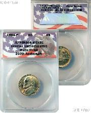 CollecTons Keepers #5: 1994-P Jefferson Nickel Special Uncirculated Matte Finish Certified in Exclusive ANACS Brilliant Uncirculated Holder