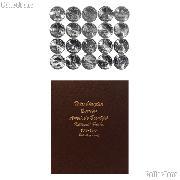 National Park Quarter Complete Set 2010-2014 P, D, S Proof, and S Silver Proof Quarters (100 Coins) in Dansco Album 8146