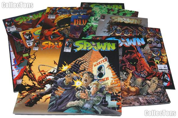 SPAWN Comic Books Bundle of 12 Different Titles from SPAWN Franchise