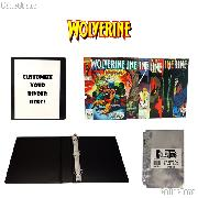 WOLVERINE Comic Book Collecting Starter Set Kit with Binder, Pages, and Comics