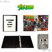 SPAWN Comic Book Collecting Starter Set Kit with Binder, Pages, and Comics