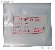 100 Pack of Poly Bags 3x3 2mil - Polyethylene Envelopes