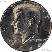 1982-P Kennedy Half Dollar Circulated Coin Good or Better