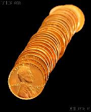 1940-D Lincoln Wheat Cent in Uncirculated Condition from Original Roll